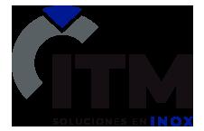 Logotipo de ITM INOX, fabricación de productos industriales en acero inoxidable