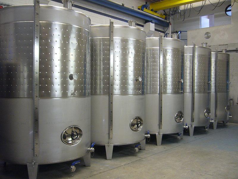 Depósitos 7000 litros | Trabajos en acero inoxidable a medida industria alimentaria | ITM INOX