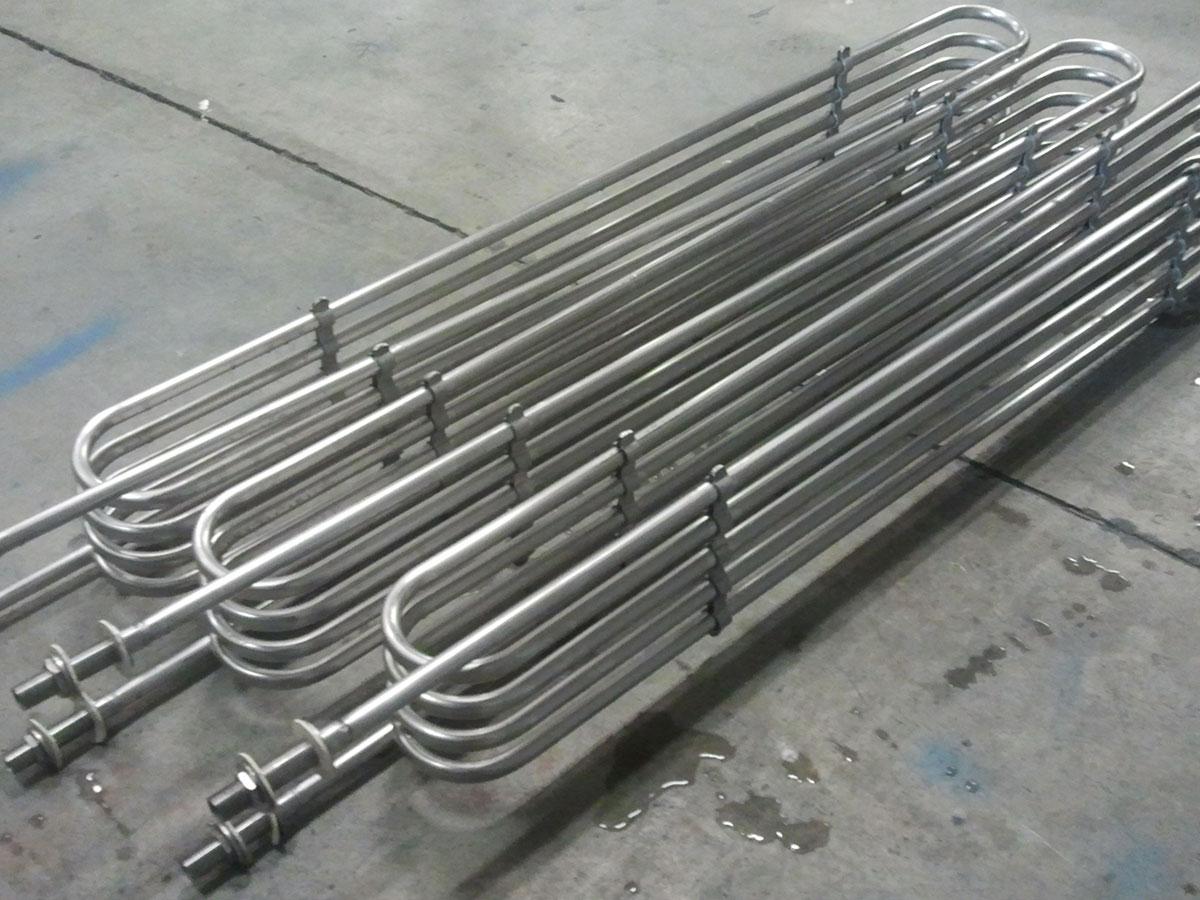 Serpentín para enfriamiento de leche | Trabajos en acero inoxidable a medida | ITM INOX
