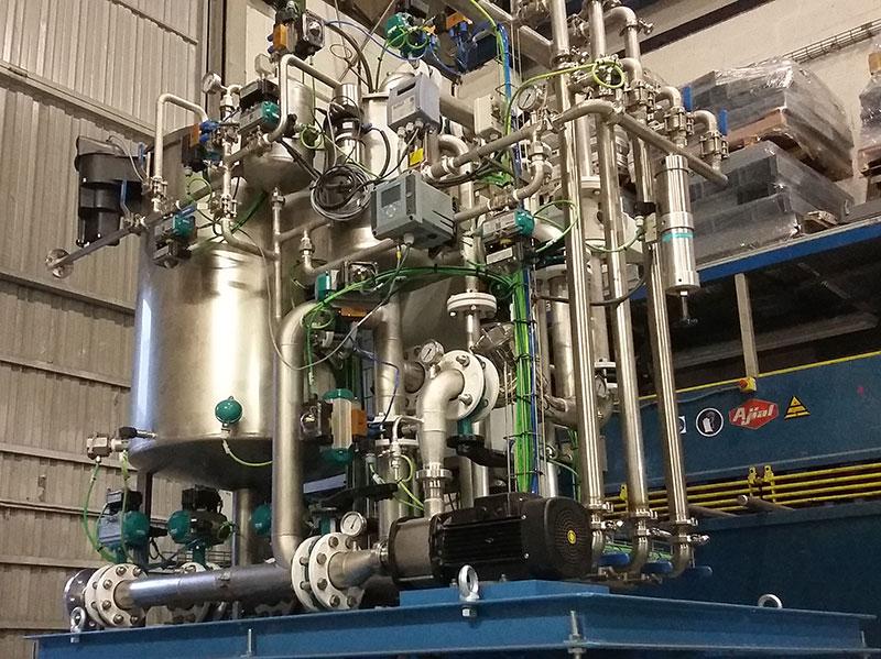 Planta depuradora compacta | Trabajos en acero inoxidable a medida para el tratamiento de aguas residuales | ITM INOX